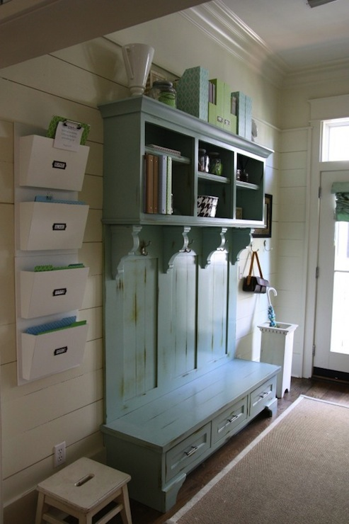 Mudroom Design, Cottage, laundry room, Simply Seleta