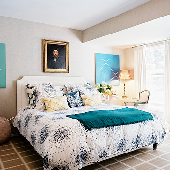 Lucite Nightstand, Contemporary, bedroom