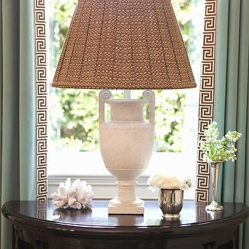 Vintage Alabaster Lamp, Traditional, living room, Thornton Designs