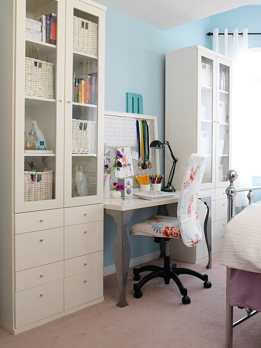 ikea desk contemporary girl 39 s room margot austin
