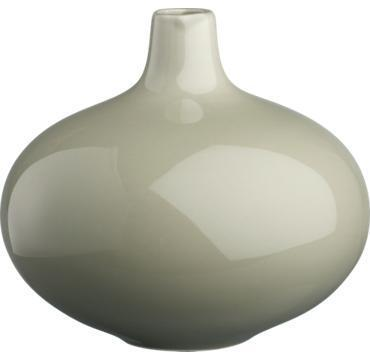 Decor/Accessories - CB2 - greycie vase - grey, vase