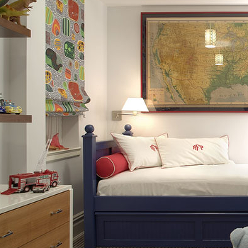 Twin Bed with Storage, Contemporary, boy's room, Katie Ridder