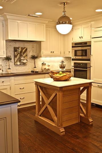 X kitchen island trim transitional kitchen phoebe howard - Kitchen island decorative trim ...