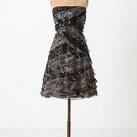 Miscellaneous - Curving Cloudcover Dress - Anthropologie.com - holiday, black, dress