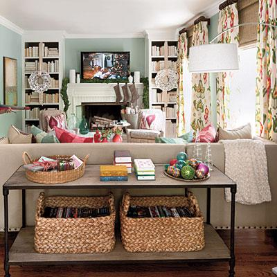 Living Room Farrow And Ball Dix Blue