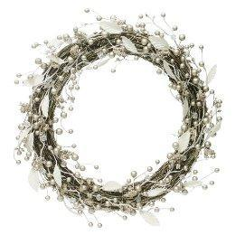 Miscellaneous - Beaded Wreath - Silver : Target - beaded, silver, wreath