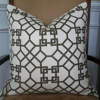 Pillows - NEW DECORATIVE DESIGNER PILLOW COVER 20x20 by elegantouch - windsor smith, pelagos, fabric, pillow