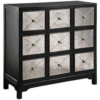 Storage Furniture - Apothecary 9-Drawer Mirror Chest - apothecary, chest
