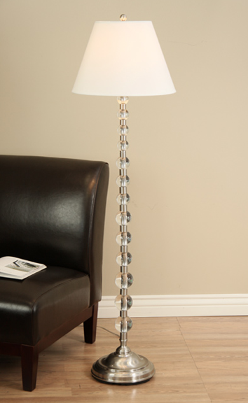 Pottery Barn Stacked Crystal Floor Lamp Look 4 Less