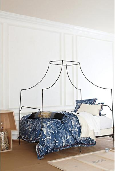 anthropologie italian campaign canopy bed look 4 less cold italian campaign canopy bed craigslist design