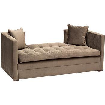 Seating - High Fashion Home Mercer Settee - tufted, daybed, settee