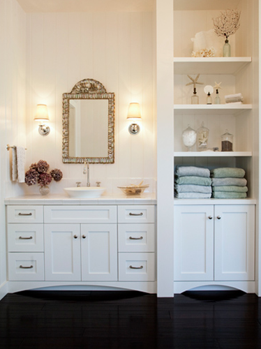Built In Bathroom Cabinet, Traditional, bathroom
