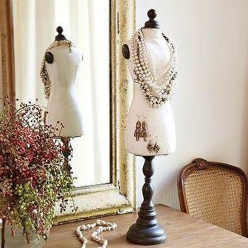 Decor/Accessories - Vintage Bust Form | Pottery Barn - vintage, bust form