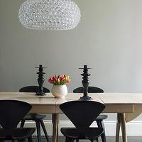 Laura Moss Photography - dining rooms - cherner chairs, black cherner chairs, cherner side chairs, black cherner side chairs,  Modern dining