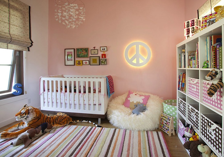Butterfly Mobile - Transitional - nursery - Feldman Architecture