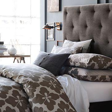 Beds/Headboards - Diamond Tufted Headboard | west elm - otter, diamond, tufted, headboard