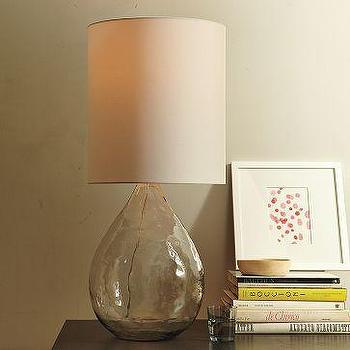 Lighting - Glass Jug Table Lamp | west elm - jug, table lamp