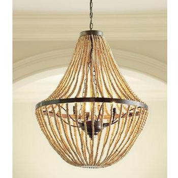 Lighting - maddox beaded chandelier - maddox, beaded, chandelier