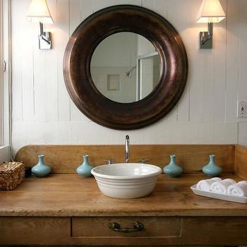 Rustic Bathroom vVnity, Cottage, bathroom, Windsor Smith Home