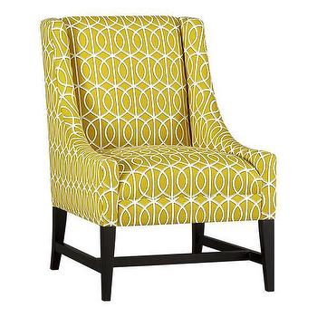 Seating - Chloe Chair | Crate&Barrel - chloe, chair, yellow