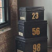 Decor/Accessories - Metal Stacking Trunks - metal, stacking, trunks
