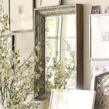 Mirrors - Aegean Mirror | Pottery Barn - aegean, mirror
