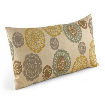 Pillows - Zinnia Cool Pillow - Pillows & Throws - Accessories - Room & Board - zinnia, pillow