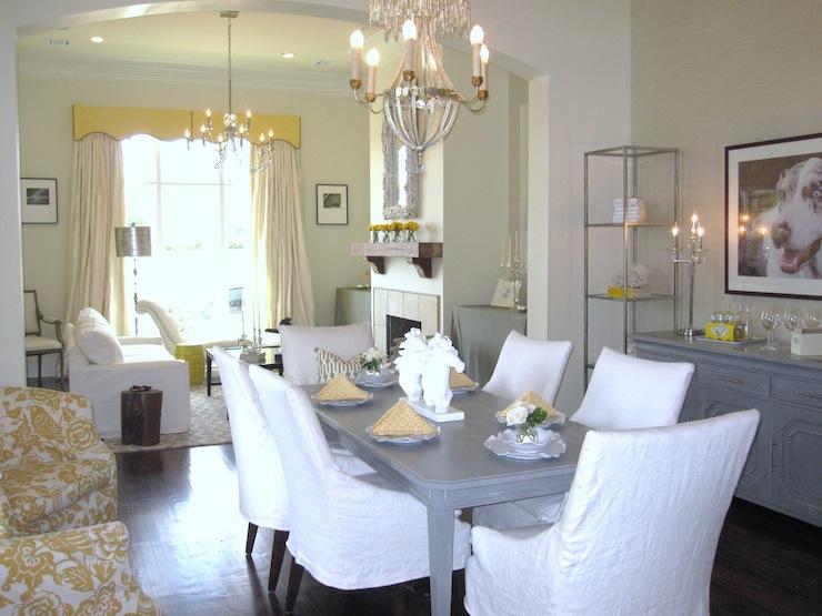 Dining room for Benjamin moore monterey white