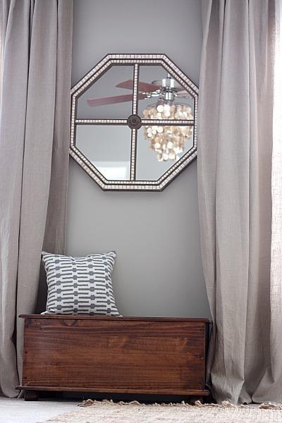 Gray Walls Contemporary Bedroom Valspar Bonsai