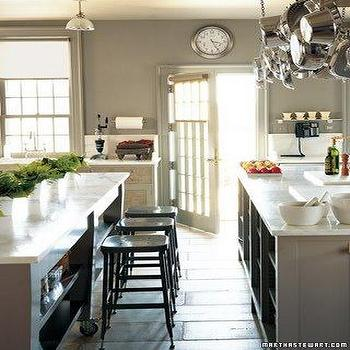 Martha Stewart Kitchen, Cottage, kitchen, Martha Stewart Bedford Gray, Martha Stewart