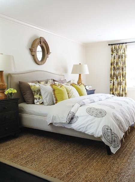 Colette Bed Transitional Bedroom House Amp Home