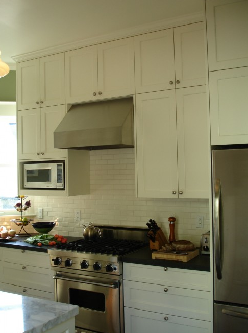 Pictures Of Kitchens With Off White Cabinets. cabinets, off-white subway