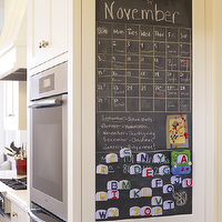 Gast Architects - kitchens - double ovens, chalkboard calendar, kitchen chalkboard calendar, chalkboard wall, kitchen chalkboard wall, chalkboard, kitchen chalkboard, kitchen chalkboard ideas, chalkboard kitchen, chalkboard in kitchen, chalkboard message board, kitchen chalkboard message board, chalkboard end cabinets,