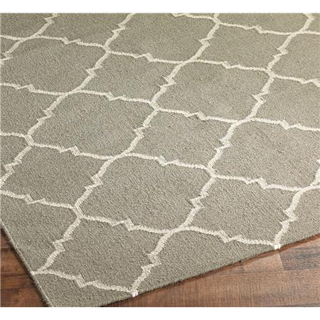 Dhurrie Diamond Soho Trellis Rug: 3 Colors, Shades of Light