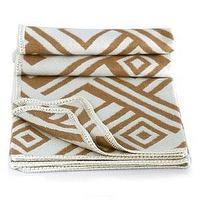 Bedding - Novica Labyrinths Alpaca Wool Throw Blanket - Throws - Cost Plus World Market - throw, world market, blanket, white, tan