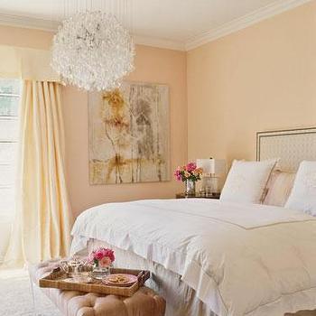 peach pink paint color design decor photos pictures