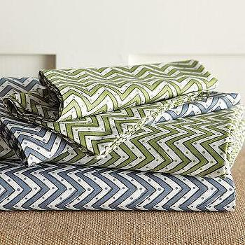 Organic Tribal Sheet Set, west elm
