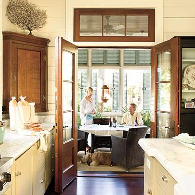 Traditional Bathroom Vanities on Off White Cabinets  Coastal  Cottage  Palmetto Bluff Home  Rich Wooden