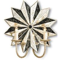 Lighting - Currey & Co Starburst Wall Sconce - Currey-co-5007 | Candelabra, Inc. - Currey & Co, Starburst, Wall Sconce