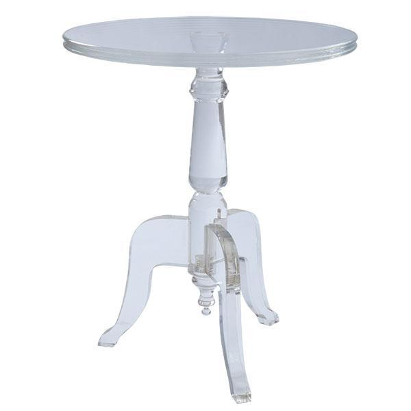 Acrylic Table Side Table Side Tables Amp Pedestals