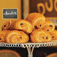 Miscellaneous - Chocolate Croissants | Williams-Sonoma - chocolate, croissants