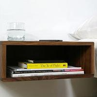 Storage Furniture - Deconstruction: Floating Side Table by Urbancase | Design Milk - built -in