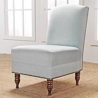 Seating - Nate Berkus Slipper Chair at HSN.com - side chair