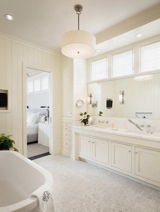 off white bathroom cabinets transitional bathroom
