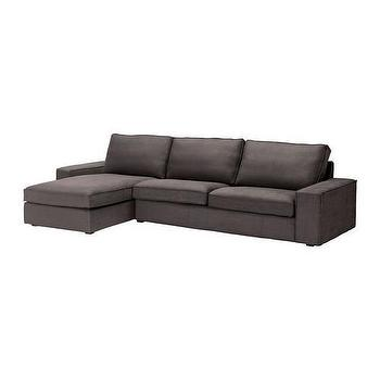 IKEA, Fabric sofas, Modular fabric sofas, KIVIK, Sofa and chaise lounge