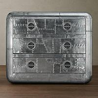 Storage Furniture - Blackhawk Large Chest | Side & Item Tables | Restoration Hardware - blackhawk, aluminum, chest