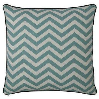 Pillows - DwellStudio�?® for Target�?® Privet Decorative Pillow : Target - dwellstudio, blue, zigzag, chevron, privet, pillow