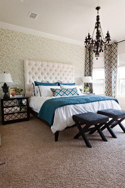 Gray orange bedroom lovely gray bedroom orange accentsgray - Decoration tete de lit ...