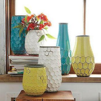 Decor/Accessories - Hive Vases | west elm - hive, vases