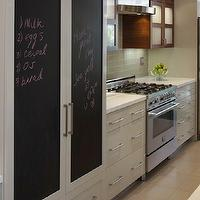 Artistic Designs for Living - kitchens - chalkboard, kitchen chalkboard, kitchen chalkboard ideas, chalkboard kitchen, chalkboard in kitchen, chalkboard message board, kitchen chalkboard message board, chalkboard refrigerator, chalkboard refrigerator doors, refrigerator chalkboard doors,